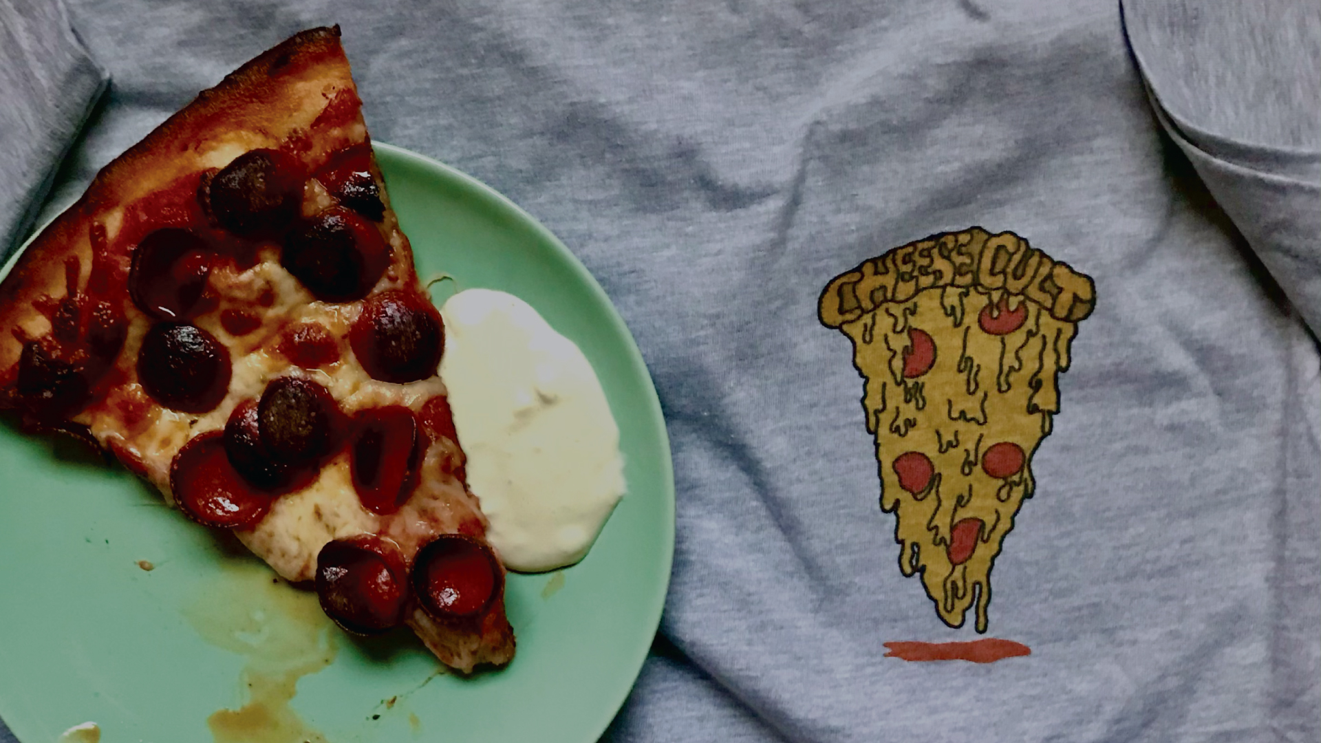 Cheese Cult Pizza T-Shirt