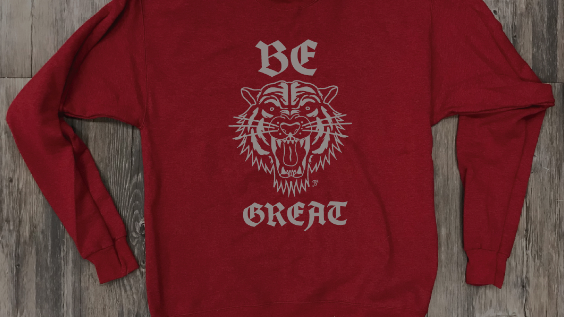 Be Great Crewneck
